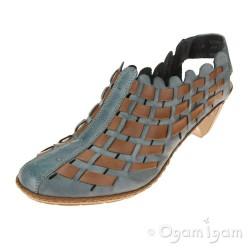 Rieker 4677812 Womens Light Denim Shoe