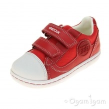 Geox Flick Boys Red Shoe