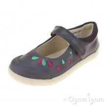 Clarks LilfolkPeg Pre Girls Grey Shoe