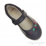 Clarks LilfolkPeg Pre Girls Grey Shoe
