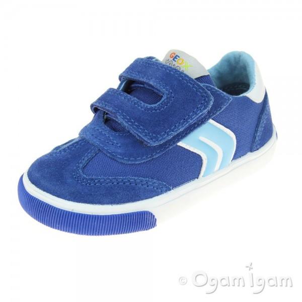 Geox Kiwi Boys Royal-Sky Blue Shoe