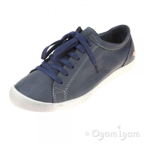 Softinos Isla Womens Navy Shoe