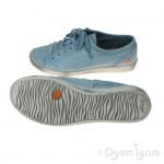Softinos Isla Womens Pastel Blue Shoe