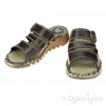 Fly London Thea Womens Dark Brown Sandal