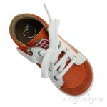 Shoo Pom Bouba Zip Box Infant Boys Orange-White Shoe