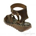 Fly London Tily Womens Camel Brown Sandal