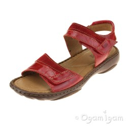Josef Seibel Debra 19 Womens Red Combi Sandal