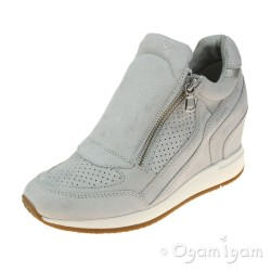 Geox Nydame Womens Off White Shoe