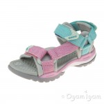 Geox Borealis Girls Light Pink-Watersea Sandal