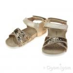 Geox Aloha Girls Beige Sandal