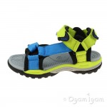 Geox Borealis Boys Lime-Light Blue Sandal