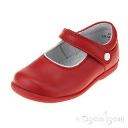 Start-rite Nancy Infant Girls Red Shoe