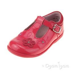 Start-rite Sunflower Girls Bright Pink Patent Shoe