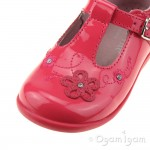 Start-rite Sunflower Girls Bright Pink Patent Shoe