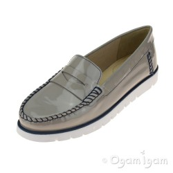 Geox Kookean Womens Light Grey Shoe