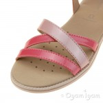 Geox Karly Girls Light Coral-Rose Sandal