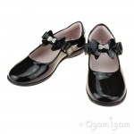 Lelli Kelly Charlotte Girls Black Patent School Shoe
