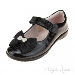 Lelli Kelly Priscilla Girls Black Patent School Shoe