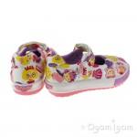 Lelli Kelly Dollface Girls Bianco Fantasia Shoe