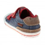 Start-rite Mason Boys Navy Washed Shoe