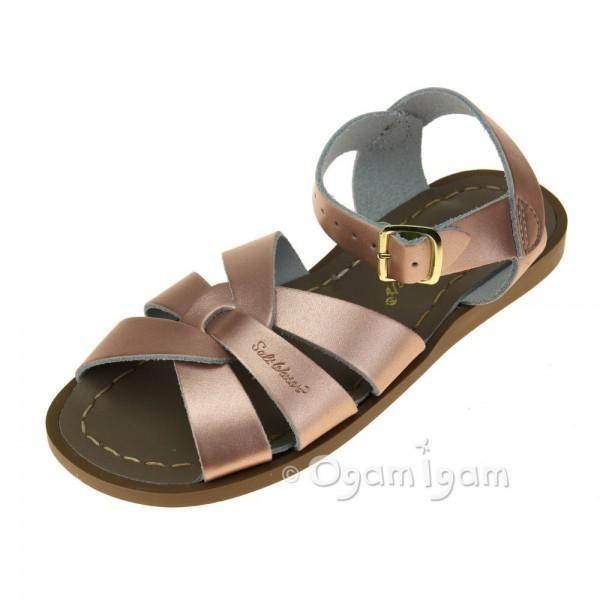 Salt-Water Original Girls Rose Gold Sandal