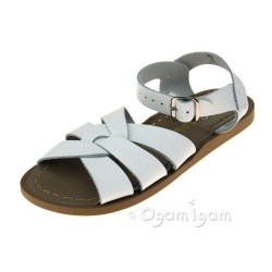 Salt-Water Original Girls White Sandal