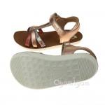 Shoo Pom Goa Salome Girls Cuivre-Corail Sandal