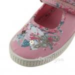 Start-rite Elsie Girls Pink Canvas Shoe