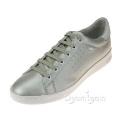 Geox Jaysen Womens Platinum Shoe