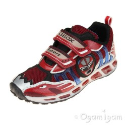 Geox Shuttle Boys Red-Royal Trainer
