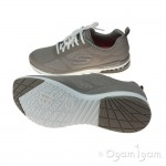 Skechers Skech-Air Infinity Womens Taupe Trainer