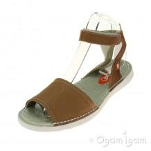 Softinos Tia Womens Camel Sandal