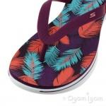 Skechers H2 Goga Lagoon Womens Purple-Pink Sandal
