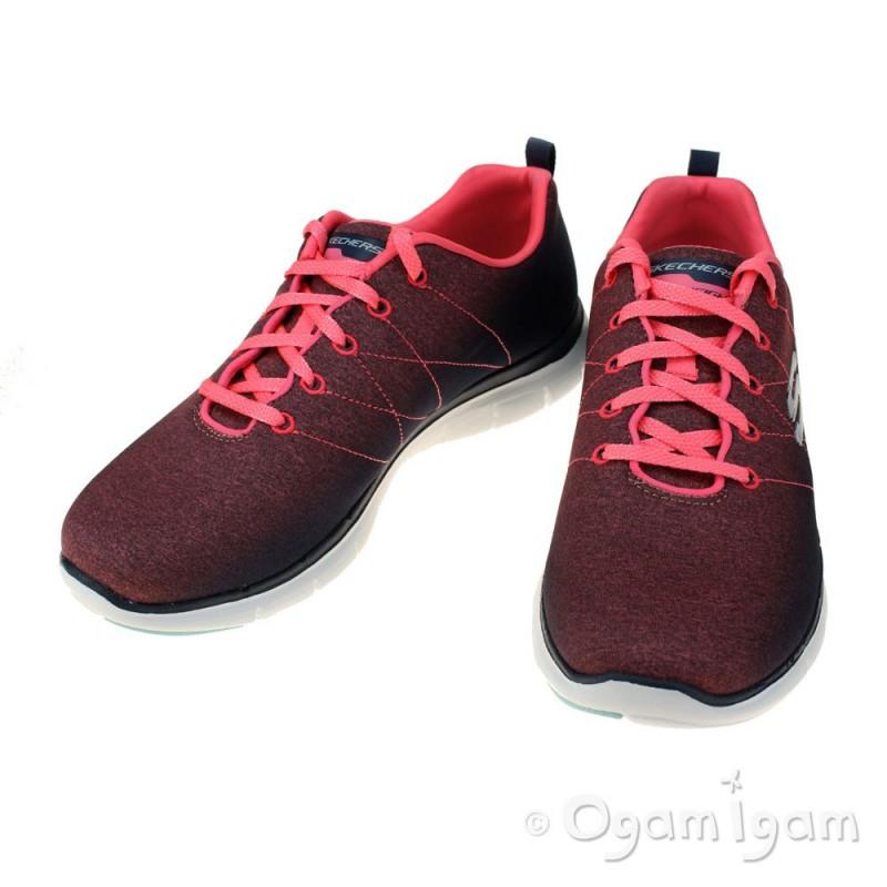 Flex Skechers Apelan 2.0 Para Mujer Zapatillas De Deporte Brightside OwNQ0G