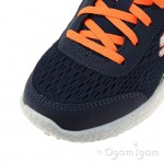 Skechers Burst Second Wind Boys Navy-Orange Trainer