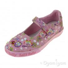 Lelli Kelly Owlie Girls Rosa Fantasia Shoe