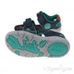 Clarks TyranoWalk Inf Boys Navy Sandal