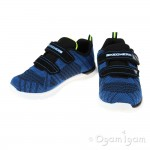 Skechers Skech-Lite Comfy Stepz Boys Navy-Blue Trainer