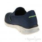 Skechers Equalizer Double-Play Mens Navy Shoe