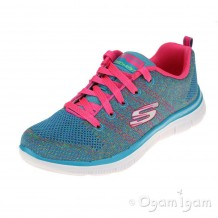 Skechers Skech Appeal High Energy Girls Multi Trainer