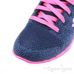 Skechers Skech Appeal High Energy Girls Navy-Hot Pink Trainer