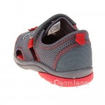 Clarks Beach Curl Fst Boys Grey Sandal