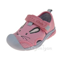 Clarks BeachMolly Fst Girls Baby Pink Sandal