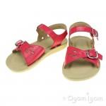 Start-rite Soft Harper Girls Hot Pink Patent Sandal