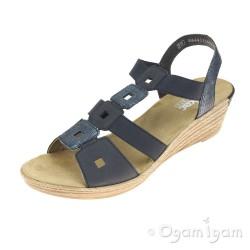 Rieker Womens Pazifik Sandal 62488