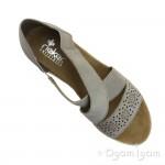 Rieker Womens Steel Sandal 61976