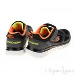Skechers Flex Advantage 2.0 Boys Charcoal-Black Trainer