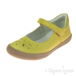 Primigi Girls Giallo Yellow Shoe PTF 7186