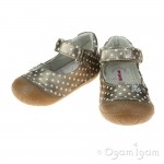 Primigi Girls Taupe-Bianco Shoe PLE 7000