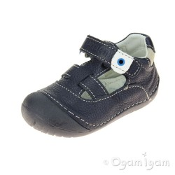 Primigi Boys Blue Leather Shoe PLE 7002